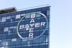 Bayer building and office Stock Image