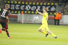 Bayer Leverkusen di Aliaksandr Hleb Fotografie Stock