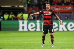 Bayer 04 Leverkusen vs Barcelona champions league Zdjęcie Stock