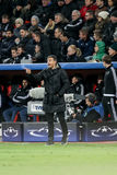 Bayer 04 Leverkusen vs Barcelona champions league Fotografia Royalty Free