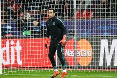 Bayer 04 Leverkusen vs Barcelona Champions League Stock Photography