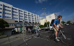Bayer Pharma AG, administracja i laboratorium Bayer opieki zdrowotnej środki farmaceutyczni w Berlin budynki, Niemcy Zdjęcie Royalty Free