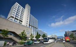 Bayer Pharma AG, administracja i laboratorium Bayer opieki zdrowotnej środki farmaceutyczni w Berlin budynki, Niemcy Obraz Stock