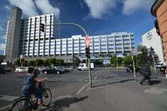 Bayer Pharma AG, administracja i laboratorium Bayer opieki zdrowotnej środki farmaceutyczni w Berlin budynki, Niemcy Fotografia Stock