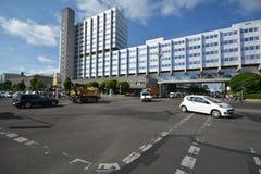 Bayer Pharma AG, administracja i laboratorium Bayer opieki zdrowotnej środki farmaceutyczni w Berlin budynki, Niemcy Zdjęcie Stock