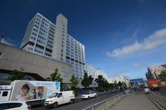 Bayer Pharma AG, administracja i laboratorium Bayer opieki zdrowotnej środki farmaceutyczni w Berlin budynki, Niemcy Obrazy Stock