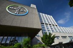 Bayer-Pharma AG, -verwaltungs-und -laborgebäude von Bayer-Gesundheitswesen-pharmazeutischen Produkten in Berlin, Deutschland lizenzfreie stockbilder