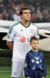 Bayer player and boy Royalty Free Stock Photo