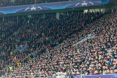 Bayer wachluje odświętność dla ich drużyny podczas dopasowania C Zdjęcie Royalty Free