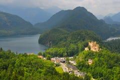 Bayerische Alpen Lizenzfreie Stockfotos