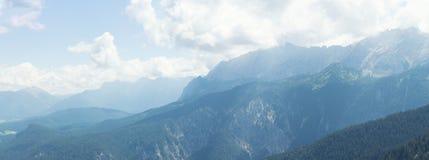 Bayerische Alpen Stockfoto