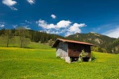 Bayerische Alpen in Deutschland Lizenzfreies Stockfoto