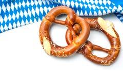 Bayerische Brezeln Stockfoto