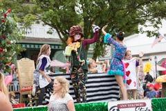 Bayerische Festival-Parade lizenzfreies stockbild