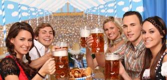 Bayerische Gruppe Stockbild