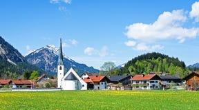 Bayerische Kirche Stockfotografie