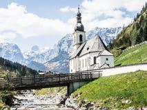 Bayerische Kirche Lizenzfreies Stockbild