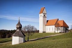 Bayerische Kirche Lizenzfreies Stockfoto