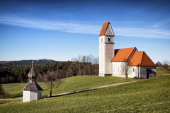 Bayerische Kirche Stockfoto