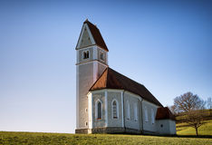 Bayerische Kirche Lizenzfreie Stockfotografie