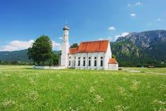 Bayerische Kirche lizenzfreie stockbilder
