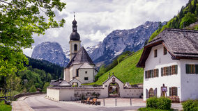 Bayerische Kirche Stockbild