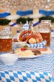 Bayerische Nahrung Stockfotos