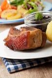 Bayerische Schweinebraten Lizenzfreie Stockfotografie