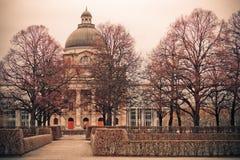 Bayerische Staatskanzlei в Мюнхене, Германии стоковое изображение rf