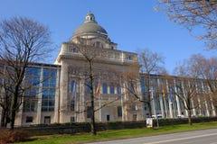 Bayerische Staatskanzlei byggnad Arkivbilder