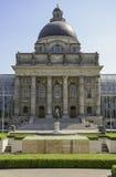 Bayerische Staatskanzlei i Munich hofgarten Arkivfoto