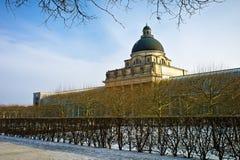 Bayerische Staatskanzlei Monaco di Baviera, Germania Immagine Stock