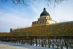 Bayerische Staatskanzlei Munich, Alemanha Imagem de Stock