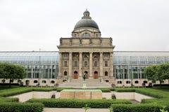 Bayerische Staatskanzlei - Munich Stock Photos