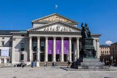 Bayerische Staatsoper Munich Royalty Free Stock Photography