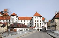Bayerische Stadt Fuessen, Deutschland Stockbilder