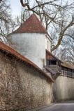 Bayerische Stadt Isny im Allgau Stockfotografie