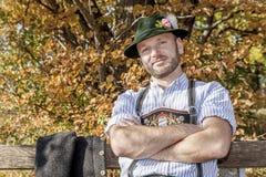 Bayerische Tradition Lizenzfreies Stockfoto