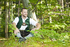 Bayerische Tradition Stockfoto