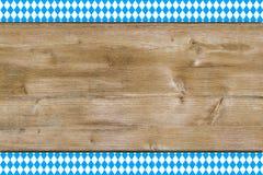 Bayerischer Hintergrund Lizenzfreies Stockfoto