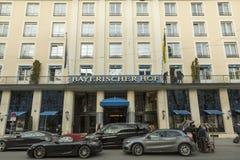 bayerischer hof ξενοδοχείο Μόναχο Στοκ Φωτογραφία