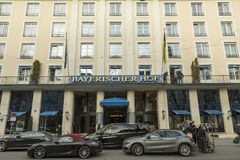 Hotel Bayerischer Hof, Munich Stock Photography
