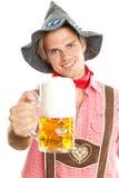 Bayerischer Mann lizenzfreie stockbilder