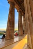 Bayerischer neoklassischer Tempel Walhalla- stockfotografie