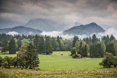Bayerisches Ackerland Lizenzfreie Stockfotografie