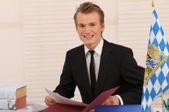 Bayerisches Büro Lizenzfreie Stockfotos