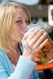 Bayerisches Bier Lizenzfreies Stockbild