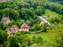 Bayerisches Dorf Lizenzfreies Stockfoto