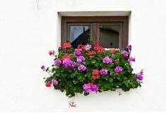 Bayerisches Fenster Lizenzfreies Stockbild