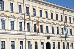 Bayerisches Finanzministerium in München Stockfotos